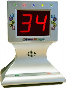 Disco Bingo Electronic Bingo Machine Game Pack for UK Pubs and Bars